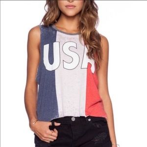 Chaser | USA Tank in Red White & Blue